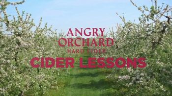 Angry Orchard Rosé TV Spot, 'Cider Lessons: Blossom Time' - Thumbnail 1