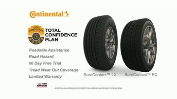 Tire Kingdom TV Spot, 'Continental Tires: Buy Three, Get One & Mail-In Rebate' - Thumbnail 4
