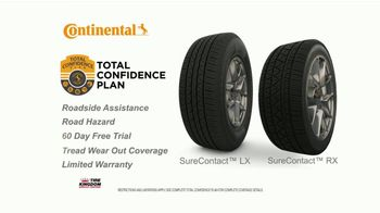 Tire Kingdom TV Spot, 'Continental Tires: Buy Three, Get One & Mail-In Rebate' - Thumbnail 5