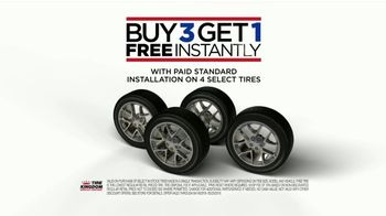 Tire Kingdom TV Spot, 'Continental Tires: Buy Three, Get One & Mail-In Rebate' - Thumbnail 6
