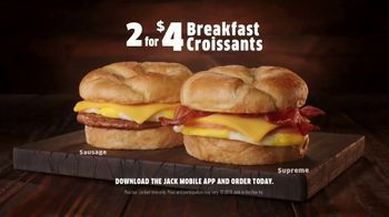 Jack in the Box 2 for $4 Breakfast Croissants TV Spot, 'Mediocre' - Thumbnail 9