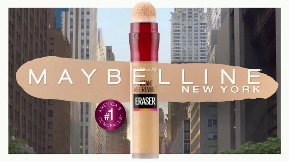 Maybelline New York Instant Age Rewind Eraser TV Commercial, 'Does It All'  - Video