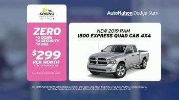 AutoNation Super Zero Event TV Spot, '2019 Ram 1500 Express' - Thumbnail 2