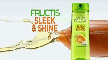 Garnier Fructis Sleek & Shine TV Spot, 'Súper liso' canción de Bruno Mars [Spanish] - Thumbnail 4