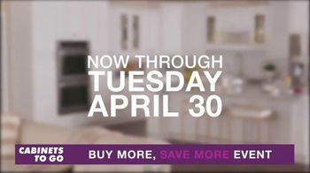 Cabinets To Go Buy More, Save More Event TV Spot, 'Dream Kitchen: 24 Months Special Financing' - Thumbnail 4