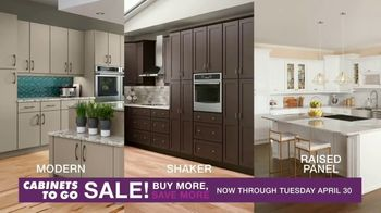 Cabinets To Go Buy More, Save More Event TV Spot, 'Dream Kitchen: 24 Months Special Financing' - Thumbnail 6