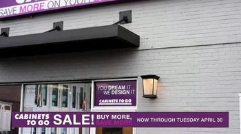Cabinets To Go Buy More, Save More Event TV Spot, 'Dream Kitchen: 24 Months Special Financing' - Thumbnail 7
