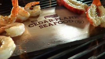 Red Lobster Cedar-Plank Seafood TV Spot, 'Planked to Perfection' - Thumbnail 2