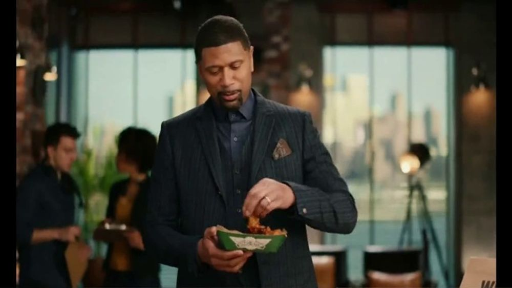 Wingstop TV Commercial, 'Back to Set' Featuring Jalen Rose