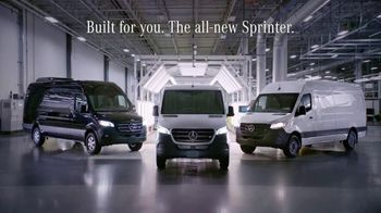 2019 Mercedes-Benz Sprinter TV Spot, 'If I Built a Van' [T1] - Thumbnail 10