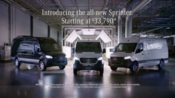 2019 Mercedes-Benz Sprinter TV Spot, 'If I Built a Van' [T1] - Thumbnail 9