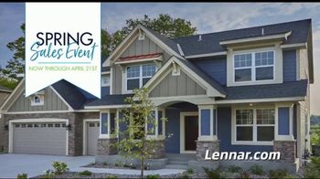 Lennar Spring Sales Event TV Spot, 'Everything's Included'
