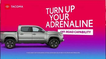 Toyota TV Spot, 'Turn Up Your Power and Adrenaline' [T2] - Thumbnail 4