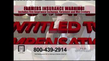 Marr Law Firm TV Spot, 'Farmers Insurance Warning' - Thumbnail 9