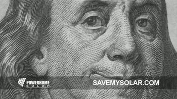 Power Home Solar & Roofing TV Spot, 'Save My Solar'