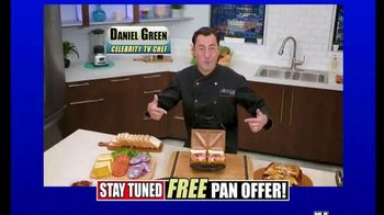 Gotham Steel Sandwich Grill TV Spot, 'Perfectly Cooked: Free Shipping' Featuring Daniel Green - Thumbnail 2