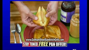 Gotham Steel Sandwich Grill TV Spot, 'Perfectly Cooked: Free Shipping' Featuring Daniel Green - Thumbnail 4