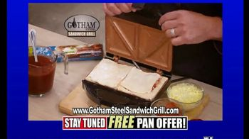 Gotham Steel Sandwich Grill TV Spot, 'Perfectly Cooked: Free Shipping' Featuring Daniel Green - Thumbnail 5