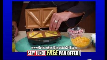 Gotham Steel Sandwich Grill TV Spot, 'Perfectly Cooked: Free Shipping' Featuring Daniel Green - Thumbnail 6
