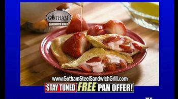 Gotham Steel Sandwich Grill TV Spot, 'Perfectly Cooked: Free Shipping' Featuring Daniel Green - Thumbnail 7