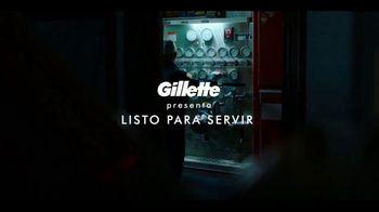 Gillette SkinGuard TV Spot, 'Listo para servir' [Spanish] - Thumbnail 1