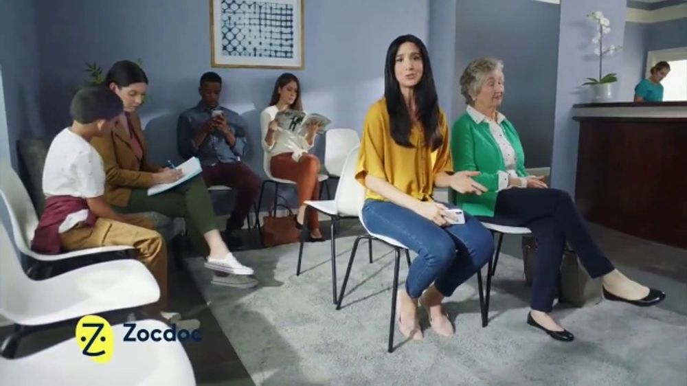 Zocdoc TV Commercial, 'Waiting Room'