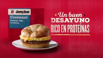 Jimmy Dean Sausage, Egg & Cheese Croissant TV Spot, 'Comenzar el día' [Spanish] - Thumbnail 3