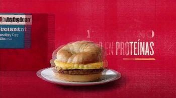 Jimmy Dean Sausage, Egg & Cheese Croissant TV Spot, 'Comenzar el día' [Spanish] - Thumbnail 4