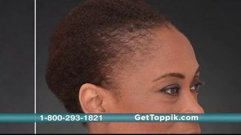 Toppik TV Spot, 'Full Hair Instantly' - Thumbnail 10