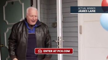 Publishers Clearing House TV Spot, 'Actual Winner: James Lane'