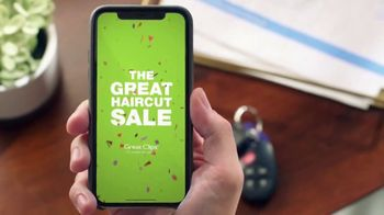 Great Clips The Great Haircut Sale TV Spot, 'Good vs. Great: $7.99' - Thumbnail 6