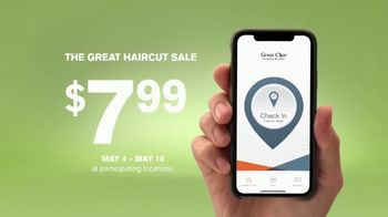 Great Clips The Great Haircut Sale TV Spot, 'Good vs. Great: $7.99' - Thumbnail 8