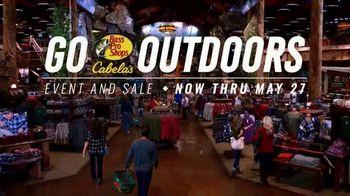 Bass Pro Shops Go Outdoors Event & Sale TV Spot, 'We Know'