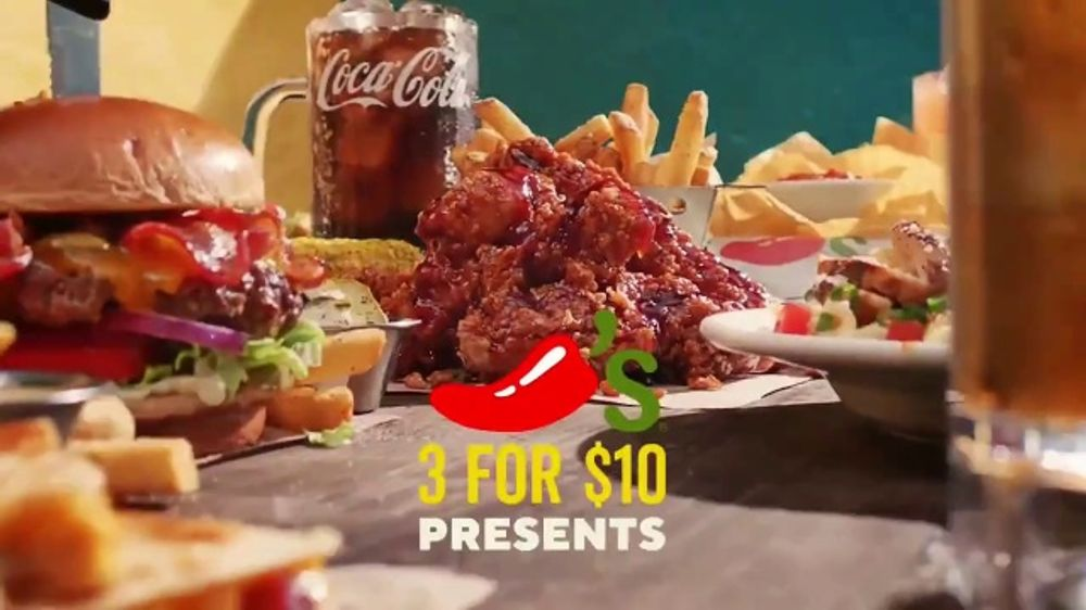 Chili's 3 for $10 TV Commercial, 'Lunch With Your Best Friend'