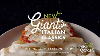 Olive Garden Giant Italian Classics TV Spot, 'For Mankind' - Thumbnail 10
