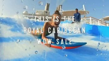 Royal Caribbean Cruise Lines Wow Sale TV Spot, '50 Percent Off and Kids Sail Free' Song by Boys Noize - Thumbnail 2