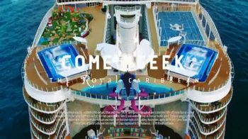 Royal Caribbean Cruise Lines Wow Sale TV Spot, '50 Percent Off and Kids Sail Free' Song by Boys Noize - Thumbnail 8