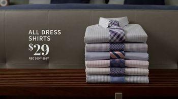 JoS. A. Bank Super Tuesday Sale TV Spot, 'May 2019: Suits and Dress Shirts' - Thumbnail 4