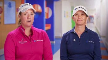 St. Jude Children's Research Hospital TV Spot, 'Golf Channel: CME Group Cares Challenge' Featuring Brittany Lincicome - 25 commercial airings