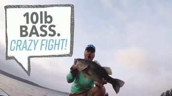 BassForecast App TV Spot, 'Catching a Huge Bass'