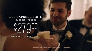 Men's Wearhouse TV Spot, 'Good On You: Designer Suits & Joe Express Suits: $279.99' Song by Free