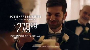 Men's Wearhouse TV Spot, 'Good On You: Designer Suits & Joe Express Suits: $279.99' Song by Free - Thumbnail 7