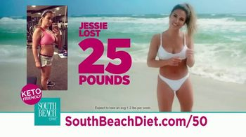 South Beach Diet Special Overnight Deal TV Spot, 'Keto-Friendly Diet' Featuring Jessie James Decker - Thumbnail 3