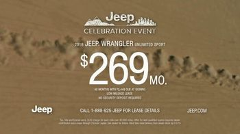 Jeep Celebration Event TV Spot, 'Actions Speak Louder Than Words' [T2] - Thumbnail 8