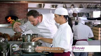 ENTYVIO TV Spot, 'Your Plan Can Change in Minutes: Chef'