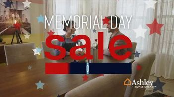 Ashley HomeStore Memorial Day Sale TV Spot, 'Dining Table and Queen Bed' Song by Midnight Riot - Thumbnail 2