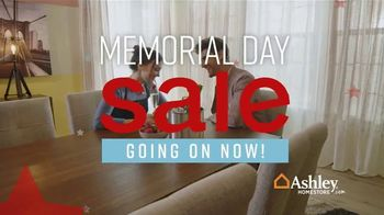 Ashley HomeStore Memorial Day Sale TV Spot, 'Dining Table and Queen Bed' Song by Midnight Riot - Thumbnail 3