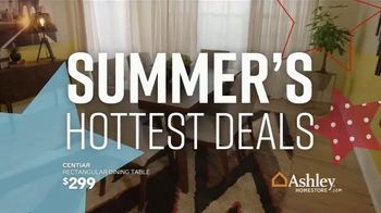 Ashley HomeStore Memorial Day Sale TV Spot, 'Dining Table and Queen Bed' Song by Midnight Riot