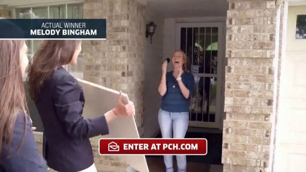 Publishers Clearing House TV Commercial, 'Actual Winner: Melody Bingham' -  Video