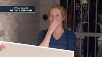 Publishers Clearing House TV Spot, 'Actual Winner: Melody Bingham' - Thumbnail 1